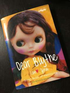 Blythe Scrap book of memories
