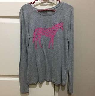 Horse-designed Long-sleeves