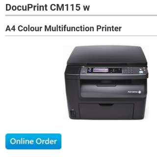 Fuji xerox DocuPrint CM115 w Printer