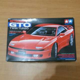 Tamiya model kit mitsubishi gto 1/24