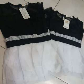 Clear Stock Girls Dress