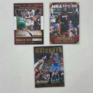 Legit Used LeBron James Lot Set Of 19 NBA Cards