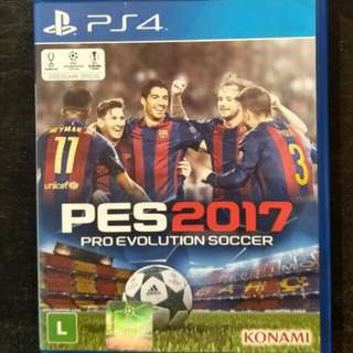 PS4 PES 2017 (PES2017)