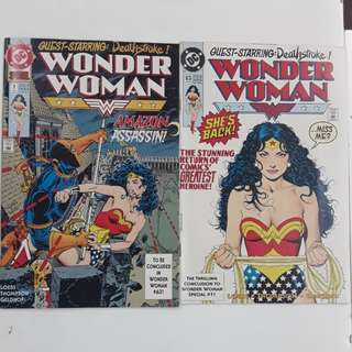 Wonder Woman Operation Cheetah Comics Set