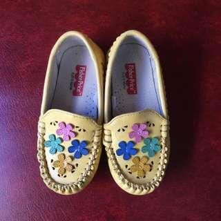 Yellow Walking Shoes