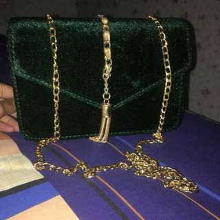 Shoulde Bag Suede Import