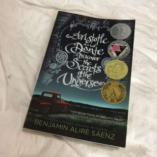 Aristotle and Dante discover the secrets of the universe book