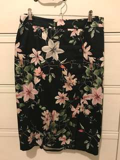 Portmans floral skirt