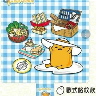 7-11蛋黃哥野餐墊