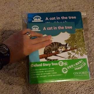 8 Storybooks + 8 workbooks ,.Oxford Story Tree  Level 2