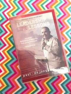 Charity Sale! Leadership Life Lessons by Paul De Jong audio CD digital Audio
