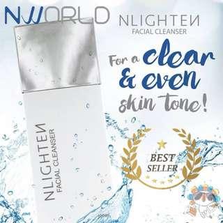 NLIGHTEN Facial Cleanser Wet Wt. 100ml. -  CASH ON DELIVERY!