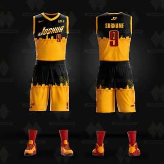 Customized Full Sublimation Basketball Jersey