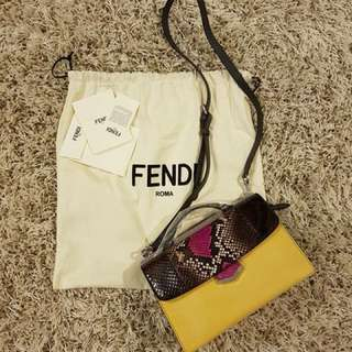 Authentic Fendi Demi Jour Python