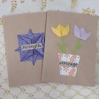 PROMO SALE Origami-designed made-to-order notebooks
