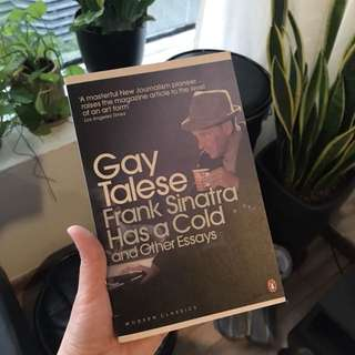 Frank Sinatra has a cold and other stories / Gay Talese