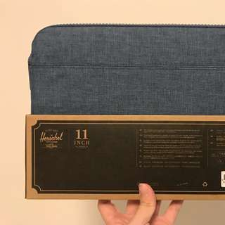 Herschel 11 inch macbook air case 牛仔布