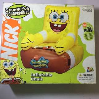 Brand New Spongebob Inflatable Chair
