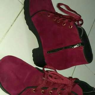 Boots maron size 39