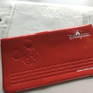 迪士尼 Disney passport travel holder 護照套 旅遊套 米奇 米奇老鼠