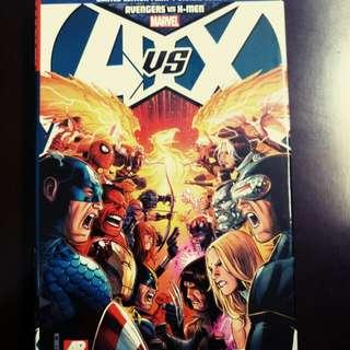 MARVEL Avengers vs X-men (Limited Edition Print + Digital Combo)