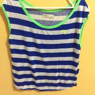 Abercrombie & Fitch Stripes Tank Top