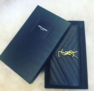 Ysl saint laurent wallet 銀包