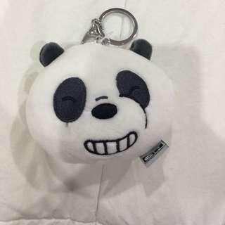 We Bare Bears Panpan Face Keychain (1)
