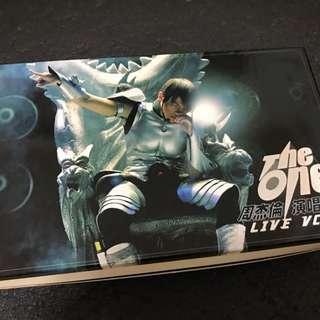 周杰倫 THE ONE演唱會VCD+限量公仔