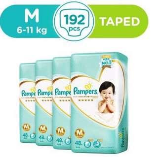 BN 1 Carton 4pkts Pampers Premium Care - Size M
