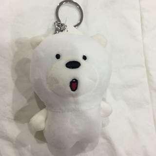 We Bare Bears Ice Bear Head Keychain