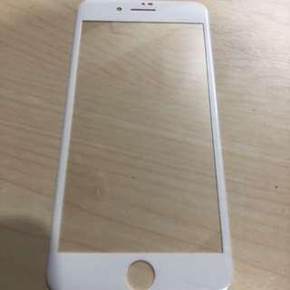 IPhone 7/8 plus 全包玻璃貼(白)