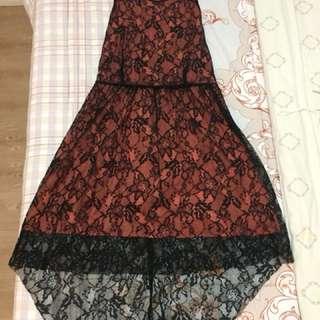 MANGO PEACH DRESS