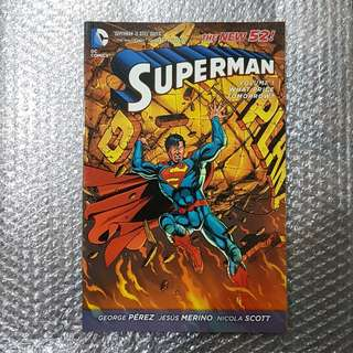 Superman (New 52) Vol. 1: What Price Tomorrow?