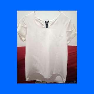 Blouse putih turun harga!!!!