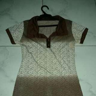 Cute printed polo shirt