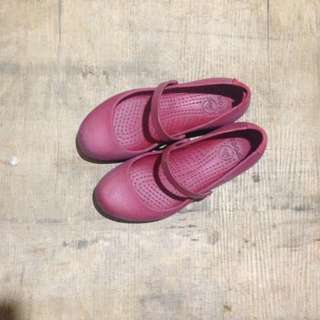 Original CROCS Shoes Maroon Size 8