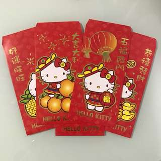 Hello Kitty Ang Pao Red Packets