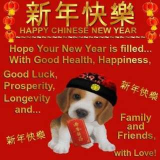 Lunar new year greeting to all