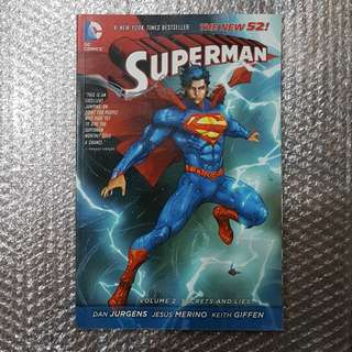 Superman (New 52) Vol. 2: Secrets and Lies
