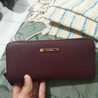 Dompet bershka maroon