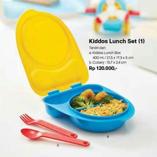 Kiddos Lunch Set Tupperware