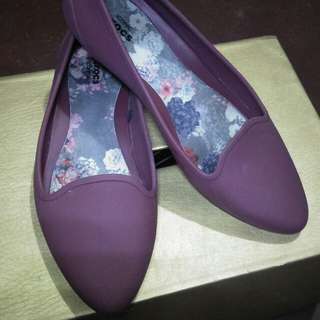 Crocs Doll Shoes Maroon