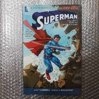 Superman (New 52) Vol. 3: Fury at World's End