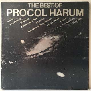Procol Harum ‎– The Best Of Procol Harum (1972 USA Original - Vinyl is Mint)