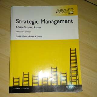Strategic Management by Pearson
