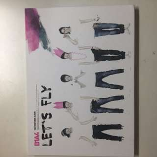 B1A4 1st mini album (Let's Fly)