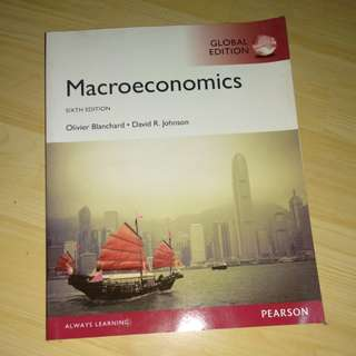 Textbook Macroeconomics by Pearson
