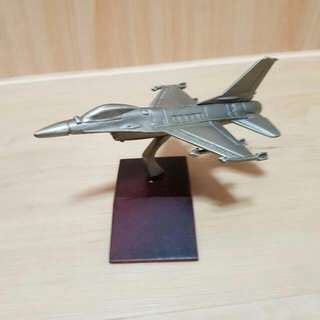 F16 Fighting Falcon Genuine Pewter, Collectible