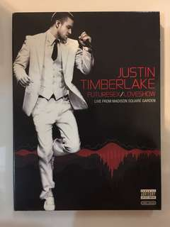 Brand new DVD Justin Timberlake live show